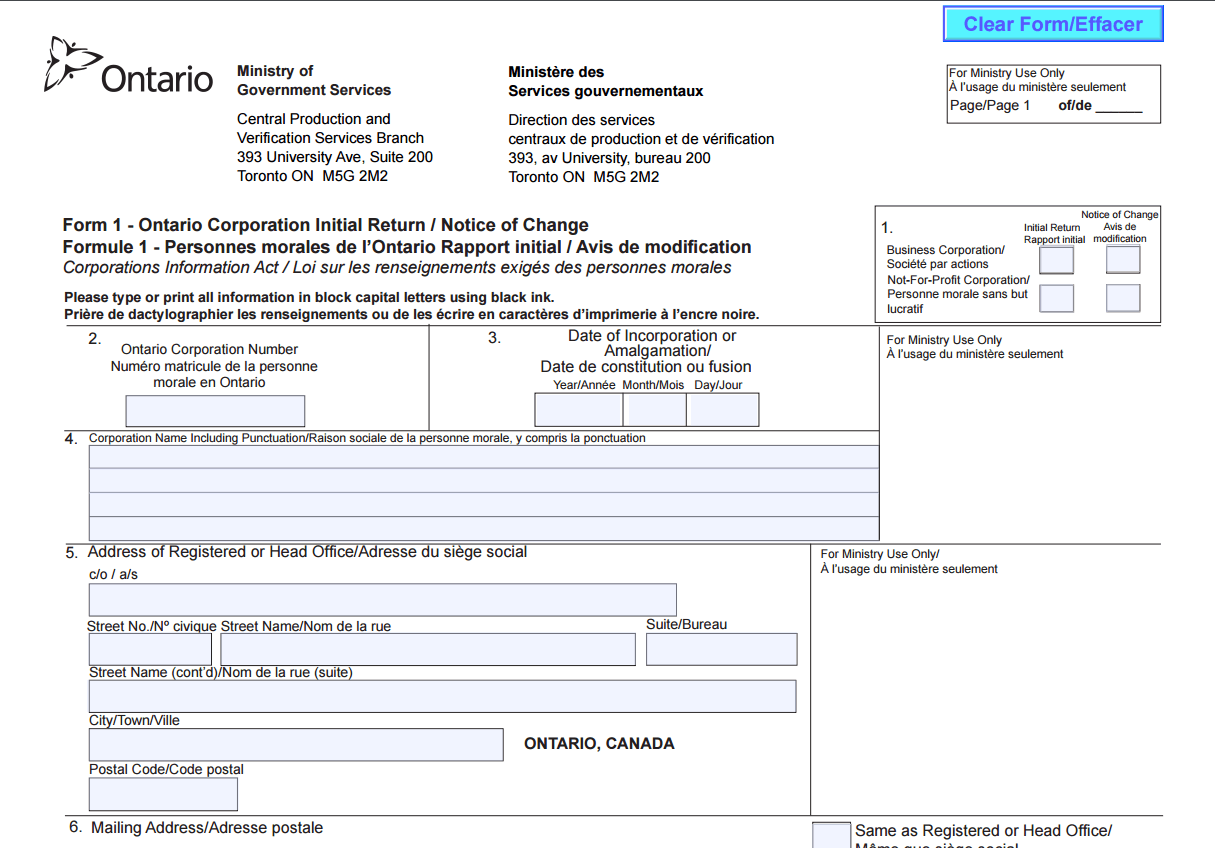 How to Find a Business Registration Number in Ontario ...